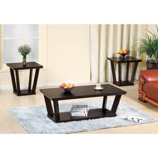 Barwell 3 Piece Coffee Table Set