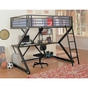 Conanso Full Workstation Loft Bed