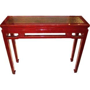 Carved Console Table ByAsian Loft