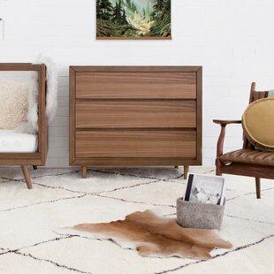 Nifty 3 Drawer Dresser by Ubabub
