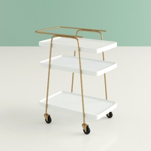 Corinne 3 Tier Bar Cart by Hashtag Home