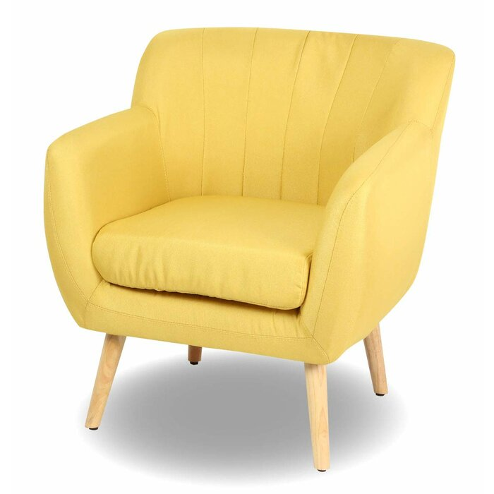 Awe Inspiring Powell Guest Mid Century Modern Armchair Ocoug Best Dining Table And Chair Ideas Images Ocougorg
