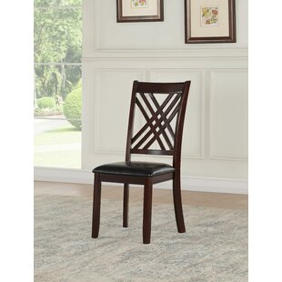 Ewalt Solid Wood Dining Chair (Set of 2) DarHome Co