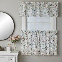 Coral Kitchen Curtains Wayfair