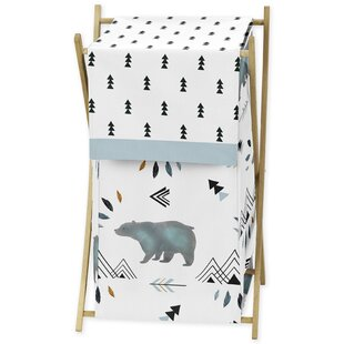 Check Prices Bear Mountain Laundry Hamper BySweet Jojo Designs