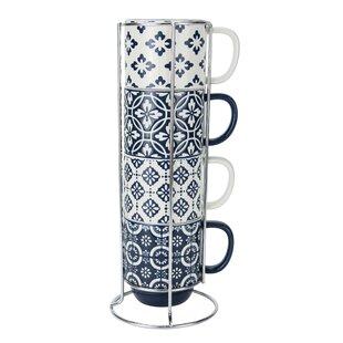 Stacking Mugs With Stand | Wayfair