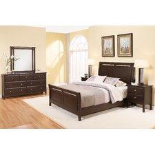 Kaitlin Sleigh 5 Piece Bedroom Set by Latitude Run