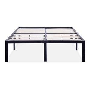 king size bed frames youll love wayfair - Bed Frame For King Size Bed