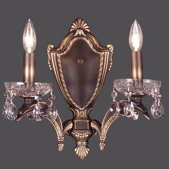 Classic Lighting Princeton 2 Light Candle Wall Light Wayfair