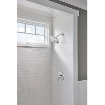 Milan Rainfall Volume Control Complete Shower System With Rough In Valve Reviews Birch Lane