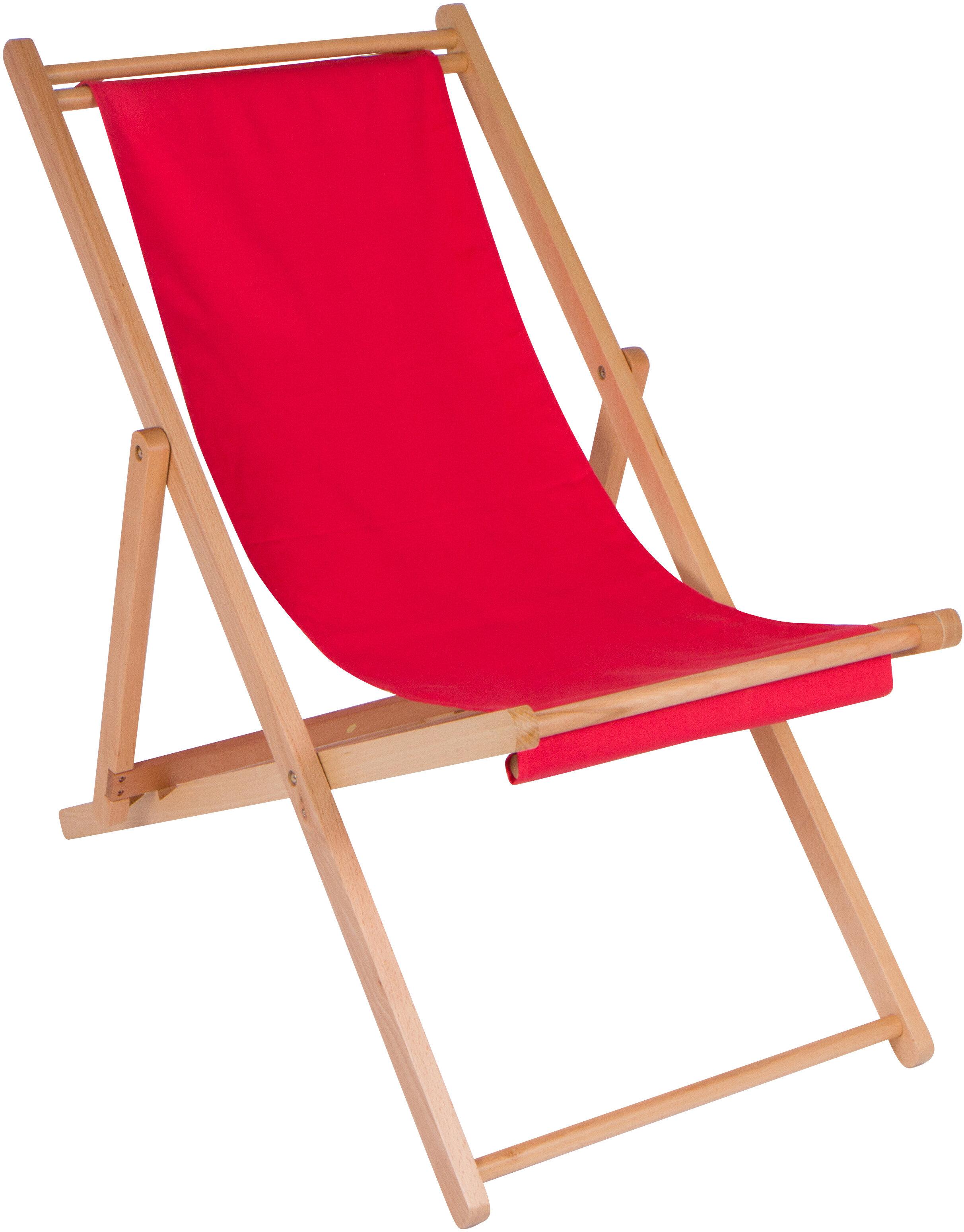 Trademark Innovations Cabana Reclining Beach Chair | Wayfair