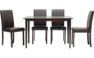 Calla 5 Piece Dining Set Latitude Run
