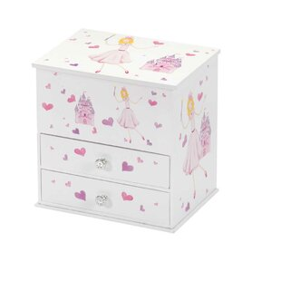 998c0f141 Beatrice Princess and Castle Chest Style Musical Jewellery Box