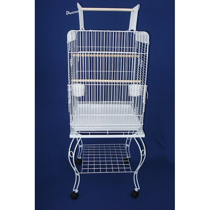 727781ebe957 Play Top Parrot Bird Cage with Stand