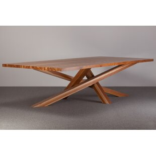 Cross Solid Wood Dining Table Ebb and Flow Furniture