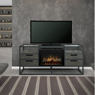 Price comparison Ivan TV Stand for TVs up to 55 with Fireplace By Dimplex