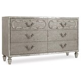 Sanctuary 6 Drawer Double Dresser by Hooker Furniture
