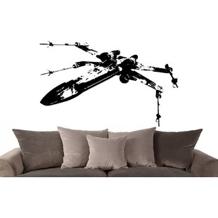 X-Wing Starfighter Star Wars Wall Decal