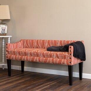 Miesha Upholstered Bench by Latitude Run