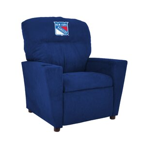 NHL Kids Recliner with Cup Holder by Imperial