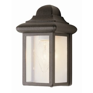Outdoor flush mount lights youll love wayfair 1 light outdoor flush mount by transglobe lighting aloadofball Image collections