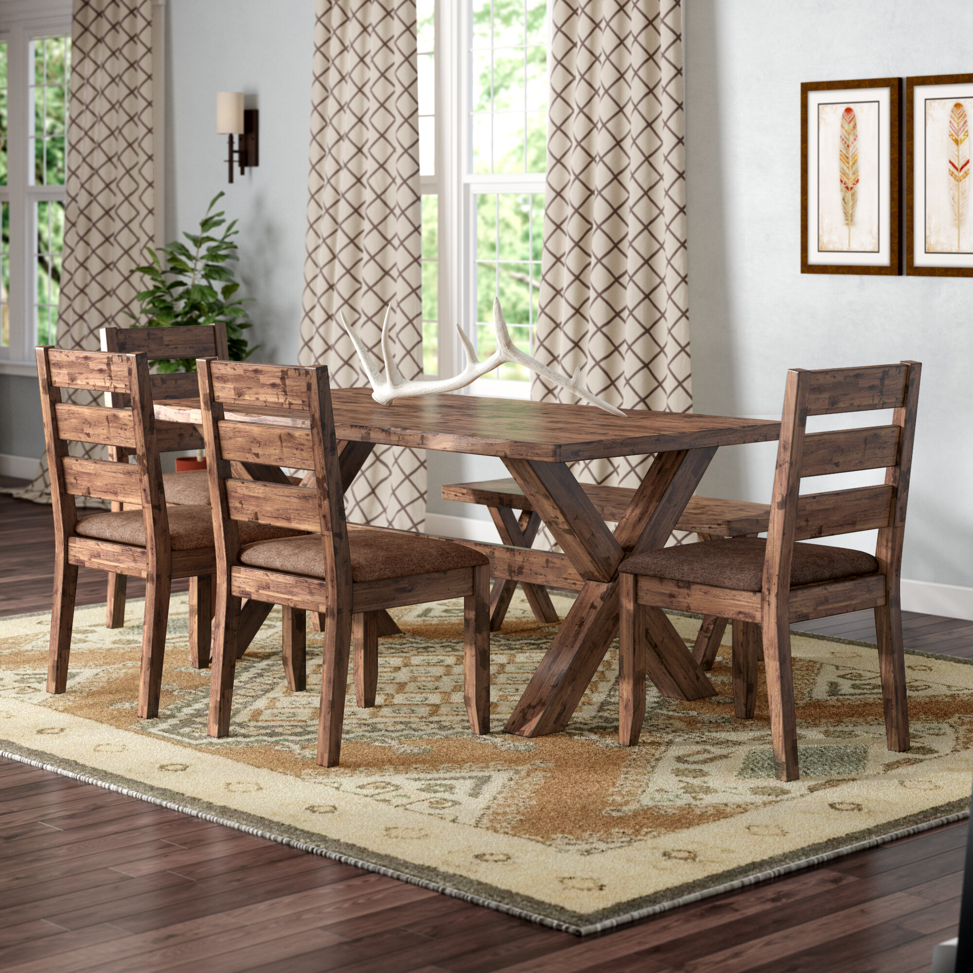 Rustic Kitchen Dining Room Sets You Ll Love In 2020 Wayfair