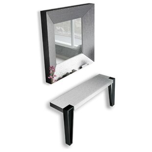 Jeramiah Console Table and Mirror Set