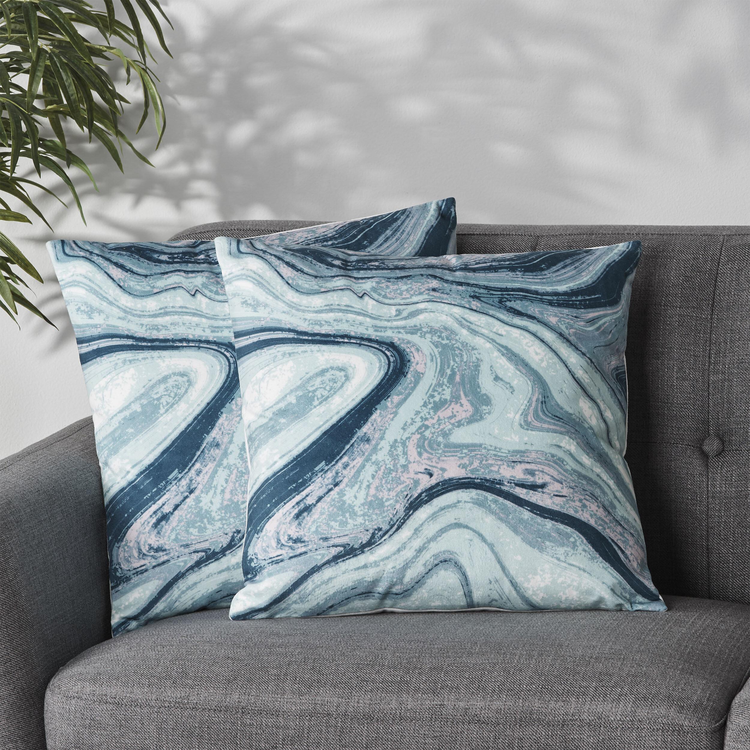 Everly Quinn Abstract 18 Throw Pillow Cover Reviews Wayfair