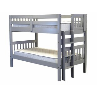 Read Reviews Treva Twin over Twin Bunk Bed by Harriet Bee Reviews (2019) & Buyer's Guide