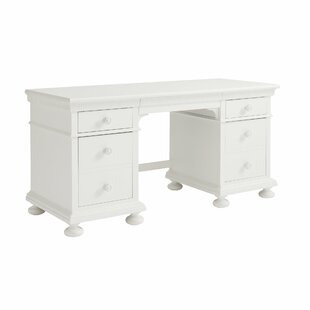 Smiling Hill Solid Wood Credenza Desk by Stone & Leigh™ Great price