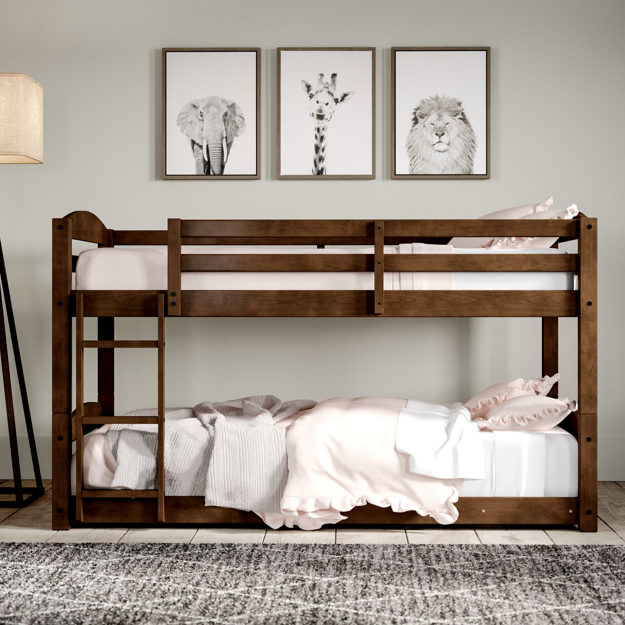 Wayfair | Greyleigh Bellmead Twin Over Twin Bunk Bed