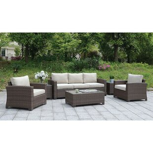 Mcintosh 6 Piece Sofa Seating Group with Cushions