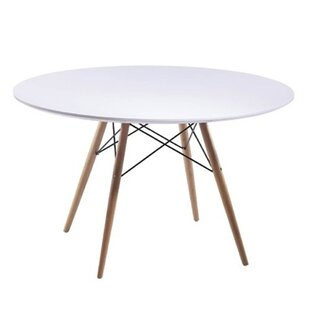 Wood Leg Dining Table