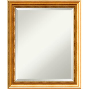 Astoria Grand Hendry Gold Wall Mirror