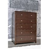 Stowers 5 Drawer Chest by Charlton Home®