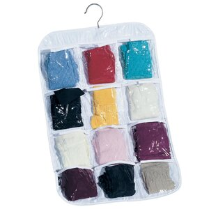 12-Pocket Stocking Hanging Organizer