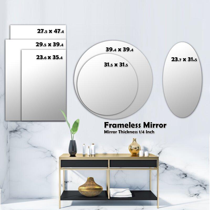 East Urban Home Mandala Wall Mirror Wayfair