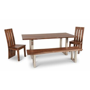 Avelar 4 Piece Dining Set Loon Peak