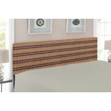 Ambesonne Decorative Metal Twin Panel Upholstered Headboard by East Urban Home