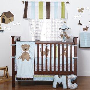 Online Reviews Ferndown Puppy Crib Bedding Set ByZoomie Kids
