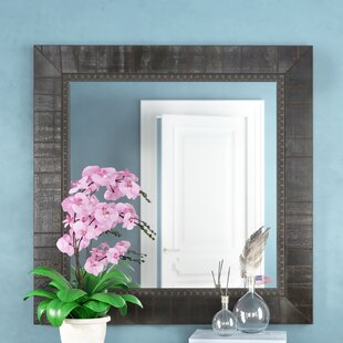 Compare & Buy Square Black Wall Mirror By Darby Home Co