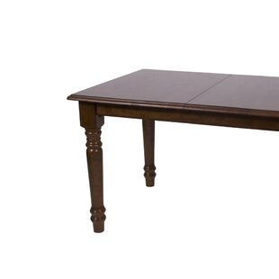 Stromberg Extendable Solid Wood Dining Table