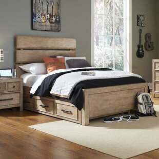 Rebecca Panel Bed With Trundle