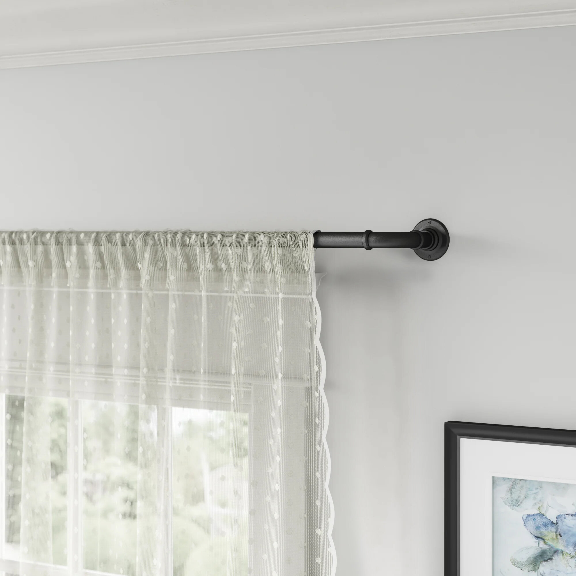 3 Inch Rod Curtain Hardware Accessories You Ll Love In 2021 Wayfair