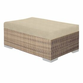 Arzo Ottoman with Cushion by Tropitone