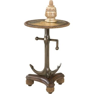 Buy clear Chapa Anchor End Table by Longshore Tides