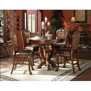 Steiner 5 Piece Counter Height Dining Set by Astoria Grand 2019 Coupon