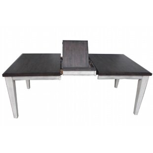 Leslie Extendable Solid Wood Dining Table