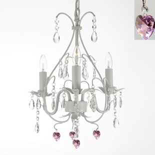 Best Evon 3-Light Candle Style Chandelier ByWilla Arlo Interiors
