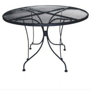 Charleston Round Wrought Iron Table
